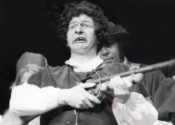 Andrew Braid as Wilfred Shadbolt in 'Yeomen of the Guard'
