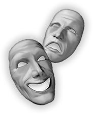 Masks of Comedy and Trgedy